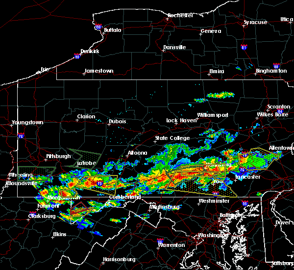 Radar Image for Severe Thunderstorms near Timber Hills, PA at 6/23/2015 4:22 PM EDT