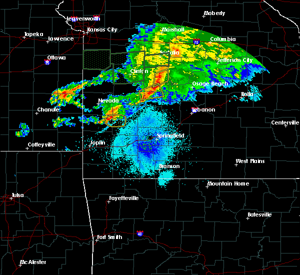 Radar Image for Severe Thunderstorms near Jerico Springs, MO at 9/28/2019 9:44 PM CDT