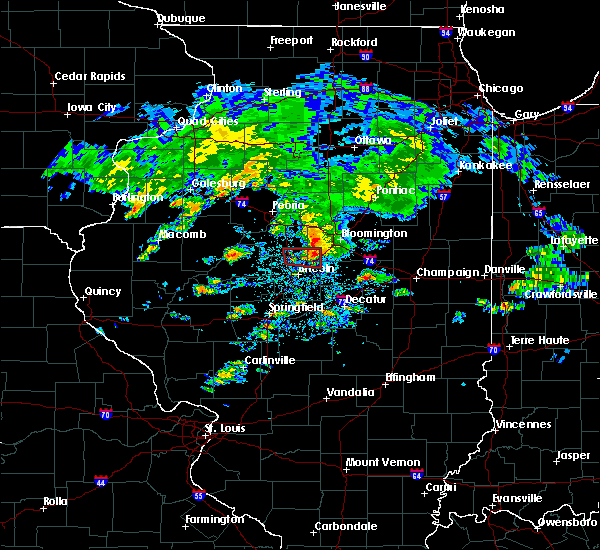 Radar Image for Severe Thunderstorms near Mansfield, IL at 9/29/2019 4:58 PM CDT