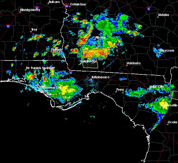 Radar Image for Severe Thunderstorms near Pelham, GA at 6/23/2015 4:36 PM EDT