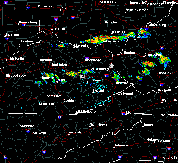 Radar Image for Severe Thunderstorms near Stanton, KY at 6/23/2015 4:35 PM EDT