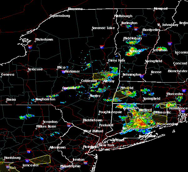 Radar Image for Severe Thunderstorms near Canaan, CT at 6/23/2015 4:50 PM EDT