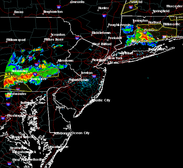 Radar Image for Severe Thunderstorms near Bally, PA at 6/23/2015 4:49 PM EDT