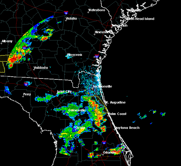 Radar Image for Severe Thunderstorms near Bunnell, FL at 6/23/2015 4:53 PM EDT