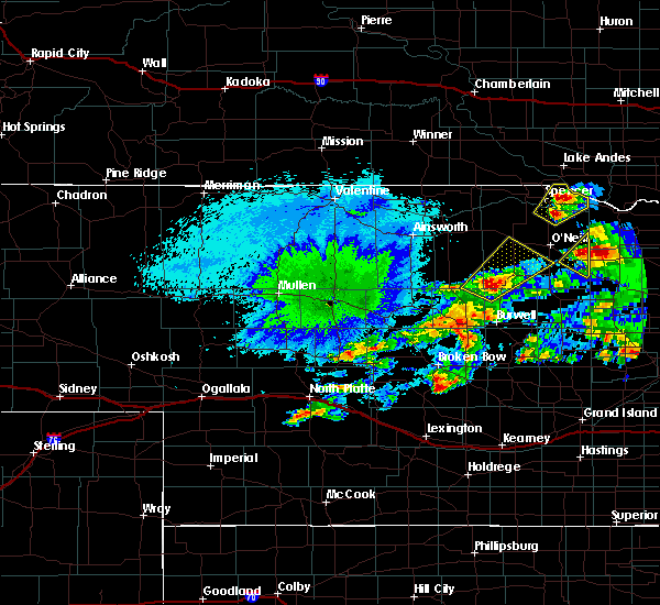 Radar Image for Severe Thunderstorms near Atkinson, NE at 9/30/2019 10:07 PM CDT
