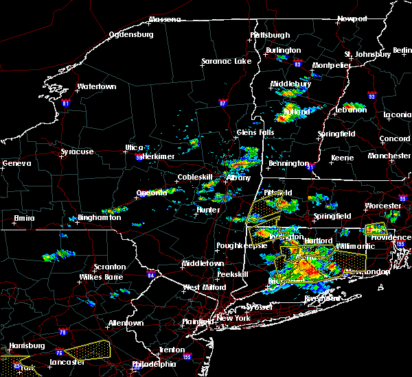 Radar Image for Severe Thunderstorms near Housatonic, MA at 6/23/2015 4:55 PM EDT