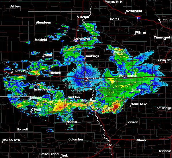 Radar Image for Severe Thunderstorms near Correctionville, IA at 10/1/2019 1:53 AM CDT
