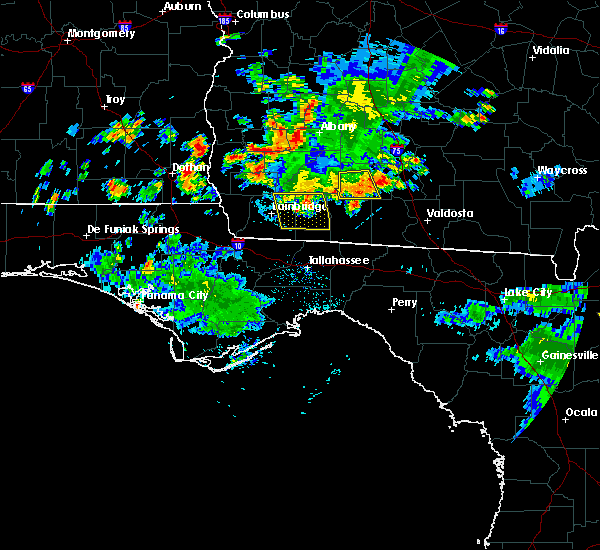 Radar Image for Severe Thunderstorms near Moultrie, GA at 6/23/2015 5:02 PM EDT
