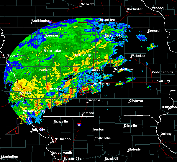 Radar Image for Severe Thunderstorms near Dysart, IA at 10/1/2019 7:06 PM CDT