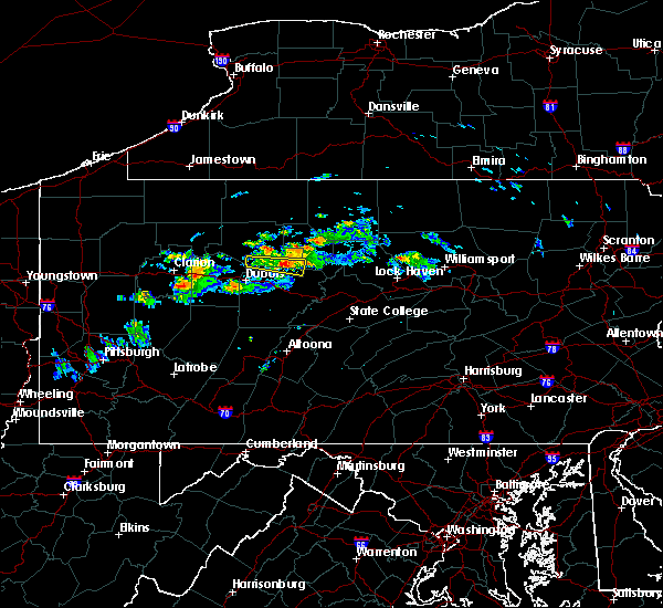 Radar Image for Severe Thunderstorms near Force, PA at 10/3/2019 5:40 PM EDT