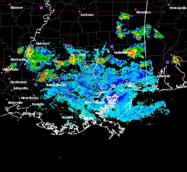 Radar Image for Severe Thunderstorms near Baton Rouge, LA at 10/4/2019 6:25 PM CDT