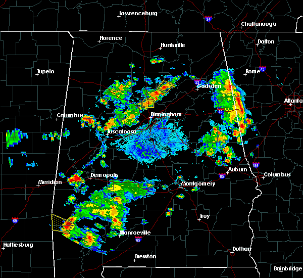 Radar Image for Severe Thunderstorms near Warrior, AL at 10/5/2019 4:53 PM CDT