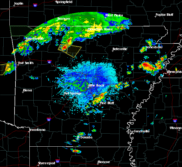 Radar Image for Severe Thunderstorms near Marshall, AR at 10/6/2019 3:00 PM CDT