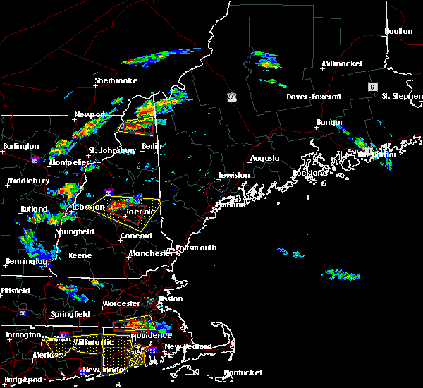 Radar Image for Severe Thunderstorms near Melvin Village, NH at 6/23/2015 5:34 PM EDT