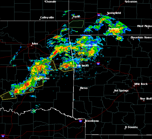 Radar Image for Severe Thunderstorms near Long, OK at 10/10/2019 4:29 PM CDT