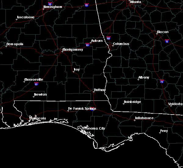 Radar Image for Severe Thunderstorms near Enterprise, AL at 6/23/2015 4:42 PM CDT