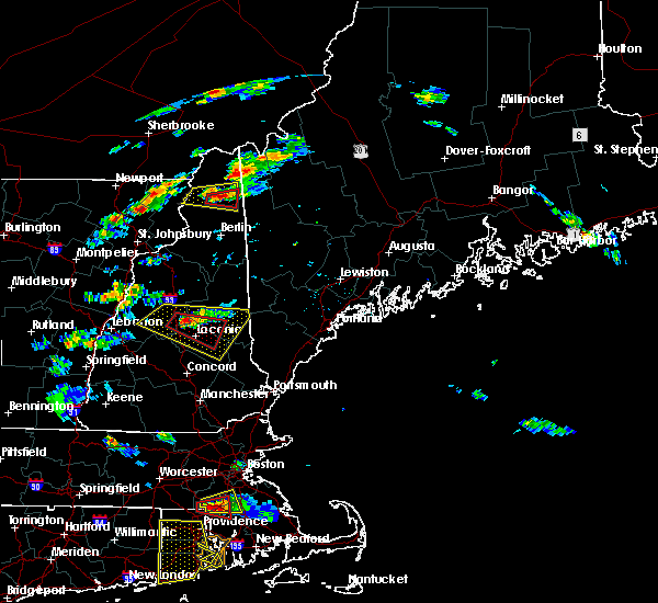 Radar Image for Severe Thunderstorms near Melvin Village, NH at 6/23/2015 5:45 PM EDT