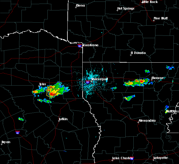 Radar Image for Severe Thunderstorms near Lake Cherokee, TX at 10/20/2019 6:51 PM CDT