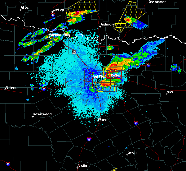 Radar Image for Severe Thunderstorms near Richardson, TX at 10/20/2019 9:13 PM CDT