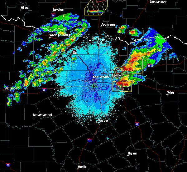 Radar Image for Severe Thunderstorms near Ferris, TX at 10/20/2019 9:57 PM CDT
