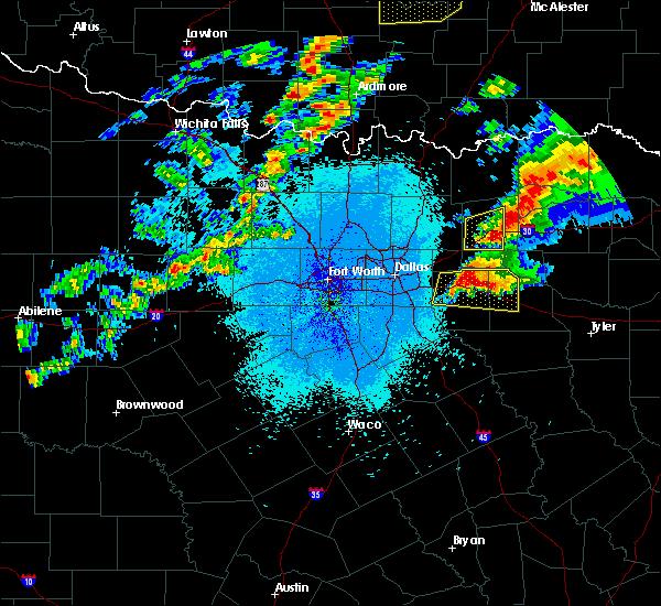 Radar Image for Severe Thunderstorms near Neylandville, TX at 10/20/2019 10:41 PM CDT