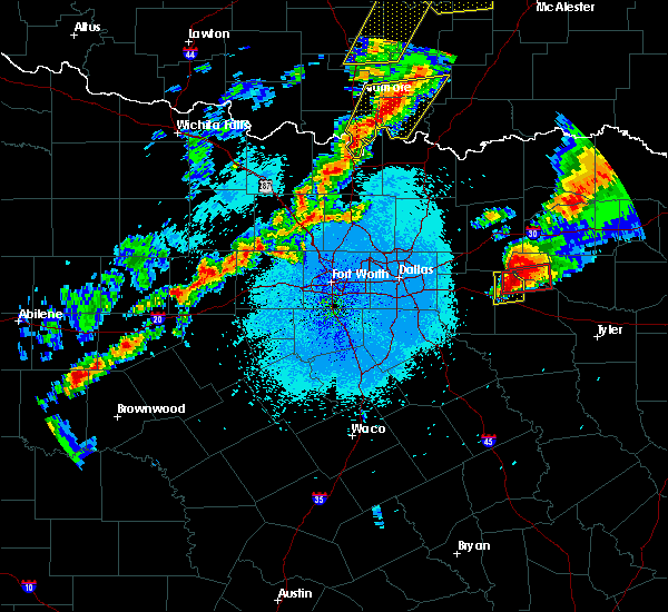 Radar Image for Severe Thunderstorms near Emory, TX at 10/20/2019 11:14 PM CDT