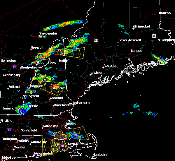 Radar Image for Severe Thunderstorms near Melvin Village, NH at 6/23/2015 5:58 PM EDT