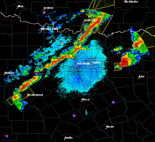 Radar Image for Severe Thunderstorms near Emory, TX at 10/20/2019 11:24 PM CDT