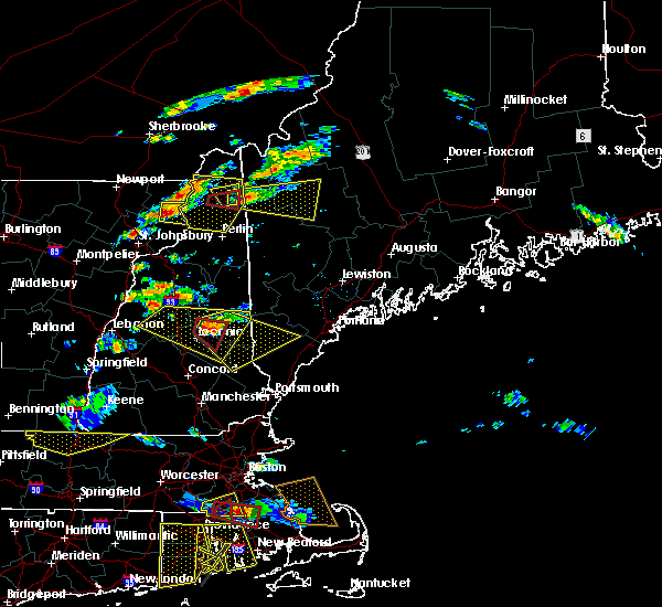 Radar Image for Severe Thunderstorms near Milton, NH at 6/23/2015 6:01 PM EDT