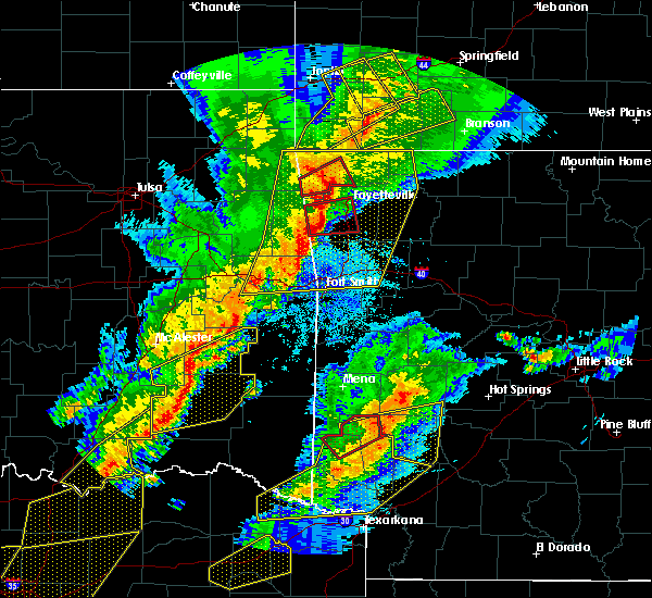 Radar Image for Severe Thunderstorms near Bethel Heights, AR at 10/21/2019 12:24 AM CDT