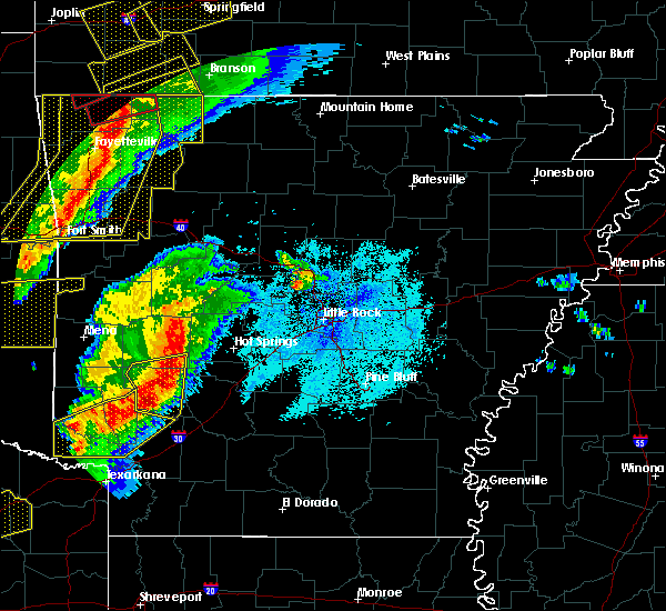 Radar Image for Severe Thunderstorms near Piney, AR at 10/21/2019 12:49 AM CDT
