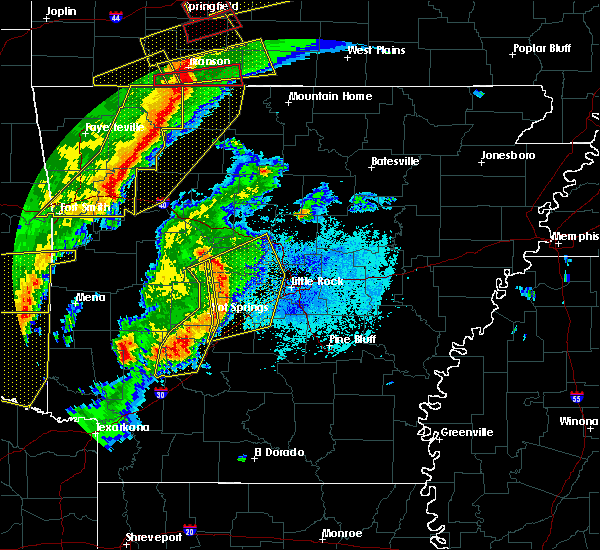 Radar Image for Severe Thunderstorms near Piney, AR at 10/21/2019 1:22 AM CDT