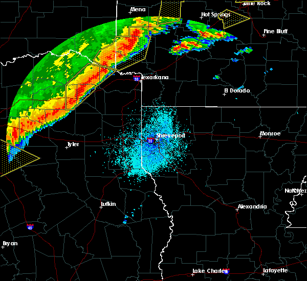Radar Image for Severe Thunderstorms near Lindale, TX at 10/21/2019 2:32 AM CDT