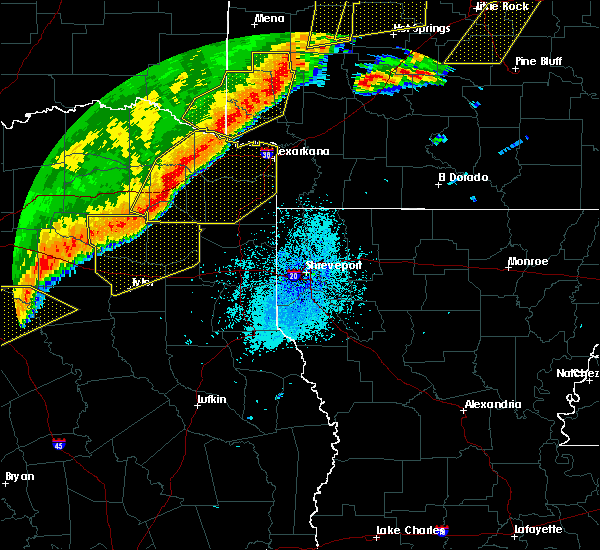 Radar Image for Severe Thunderstorms near Oakhaven, AR at 10/21/2019 2:42 AM CDT
