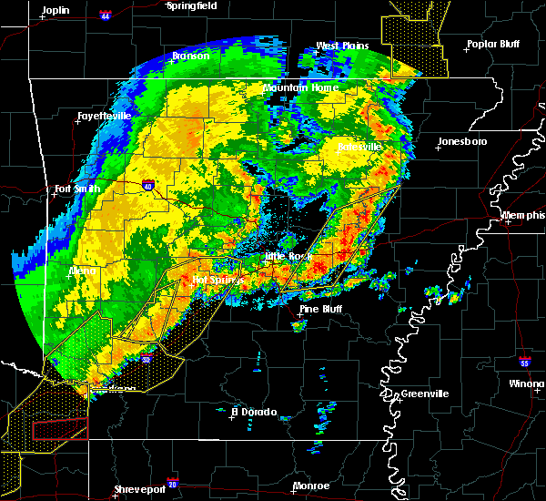 Radar Image for Severe Thunderstorms near Georgetown, AR at 10/21/2019 3:30 AM CDT