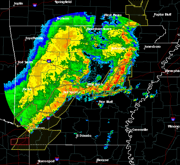 Radar Image for Severe Thunderstorms near Carlisle, AR at 10/21/2019 3:34 AM CDT