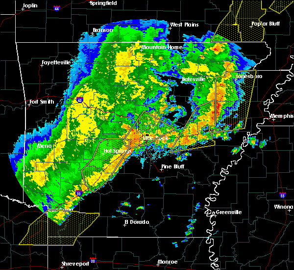 Radar Image for Severe Thunderstorms near Friendship, AR at 10/21/2019 3:53 AM CDT
