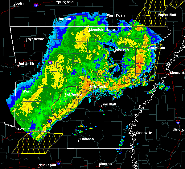 Radar Image for Severe Thunderstorms near McAlmont, AR at 10/21/2019 4:02 AM CDT