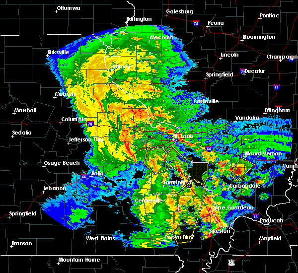 Radar Image for Severe Thunderstorms near Waterloo, IL at 10/21/2019 4:20 AM CDT