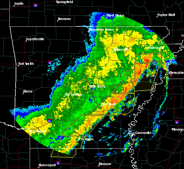 Radar Image for Severe Thunderstorms near Banks, AR at 10/21/2019 5:22 AM CDT