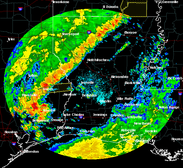 Radar Image for Severe Thunderstorms near Browndell, TX at 10/21/2019 6:31 AM CDT