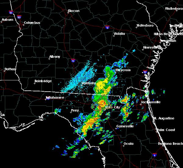 Radar Image for Severe Thunderstorms near Lake City, FL at 10/22/2019 1:46 PM EDT