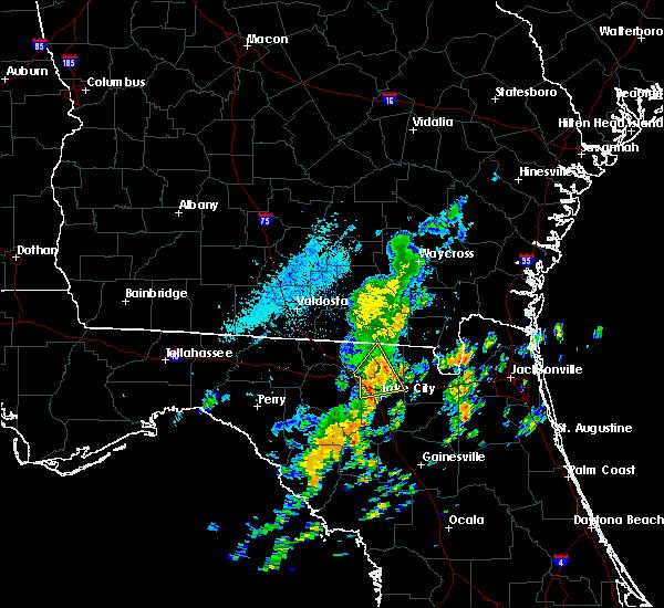 Radar Image for Severe Thunderstorms near Lake City, FL at 10/22/2019 1:54 PM EDT