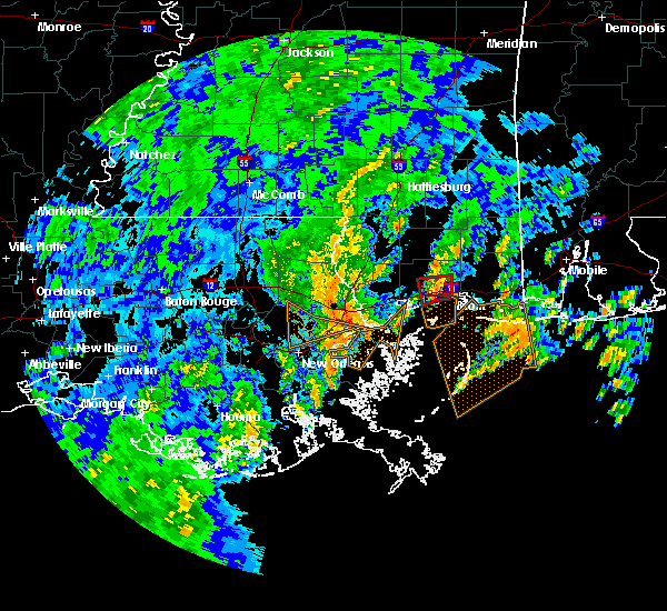 Radar Image for Severe Thunderstorms near Gulfport, MS at 10/25/2019 9:42 AM CDT