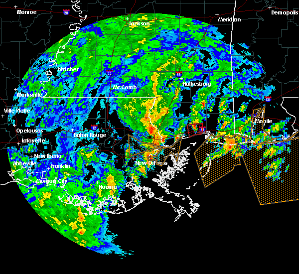 Radar Image for Severe Thunderstorms near Gulfport, MS at 10/25/2019 10:02 AM CDT