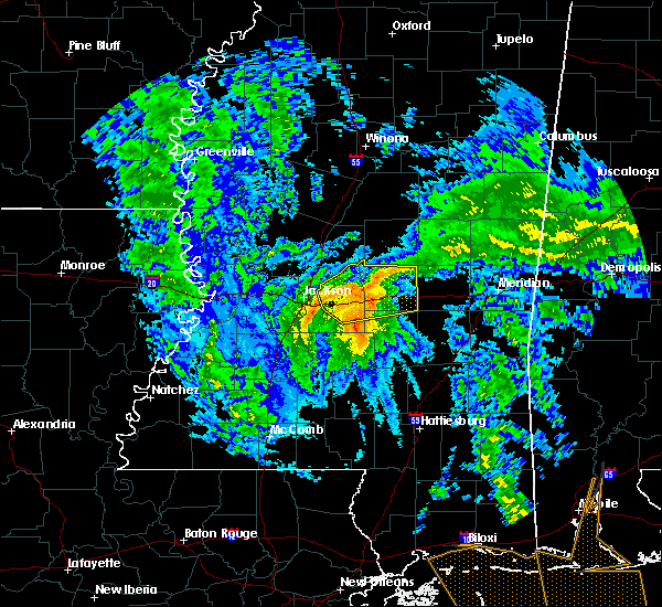 Radar Image for Severe Thunderstorms near Flowood, MS at 10/26/2019 8:01 AM CDT