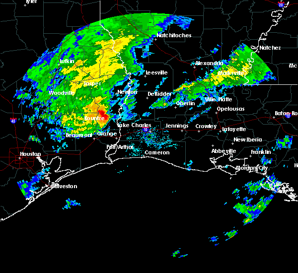 Radar Image for Severe Thunderstorms near DeQuincy, LA at 10/29/2019 5:04 PM CDT