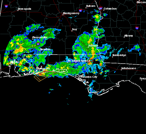 Radar Image for Severe Thunderstorms near Midway, FL at 10/30/2019 2:28 PM CDT