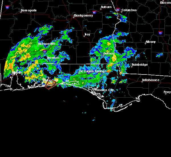 Radar Image for Severe Thunderstorms near Midway, FL at 10/30/2019 2:55 PM CDT