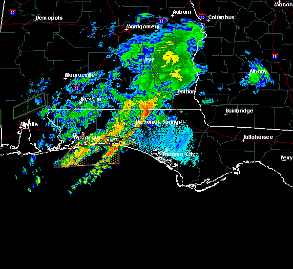 Radar Image for Severe Thunderstorms near Ocean City, FL at 10/30/2019 7:49 PM CDT
